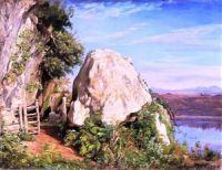 A Sheep Cote on Lake Albano (1859)