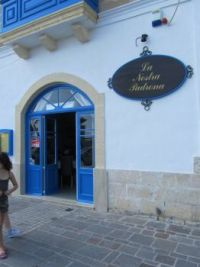 My favourite restaurant. Marsaxlokk - Malta