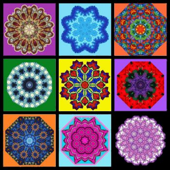 Kaleidoscope Collage