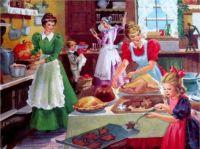 Preparing the Family Dinner