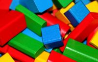 colourful wooden blocks....