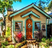 Small Cottage, Carmel, California....