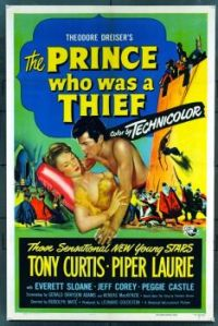 THE PRINCE WHO WAS A THIEF - 1952  TONY CURTIS & PIPER LAURIE