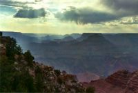 Grand Canyon, approaching storm