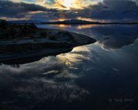 Sun Set at Black Mountain