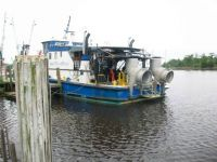 Salvage Boat at Dock
