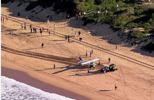 Day at the beach, nix the bus and fly in