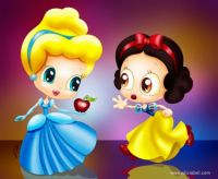 Cinderella & Snow White