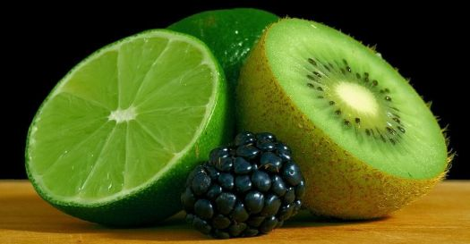 Lime, Blackberry, Kiwi