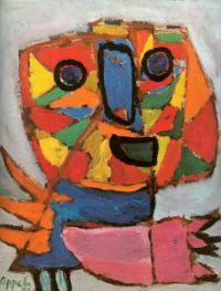 Karel Appel, Cry of Joy, 1948