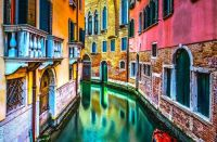 venice italy canal architecture