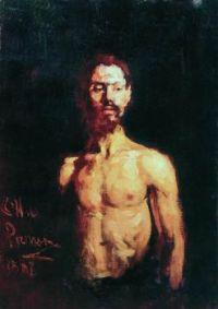 Unknown Russian artist, Coal Heaver (1887)