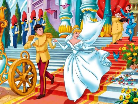 Cinderella getting married