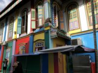 colour full buildings