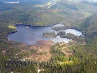 Lake Godzilla Footprint Alaska