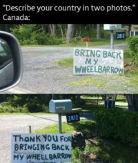 Nice people in Canada :-)