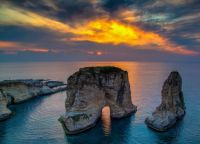 Pigeon's Rock, Raouché, Beyrouth