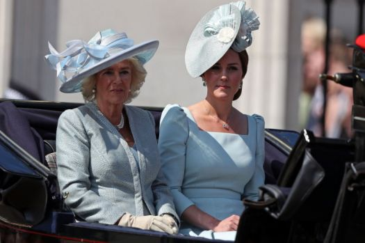 Catherine and Camilla.