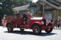 An Old Fire Truck