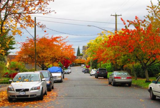 Autumn in North Vancouver