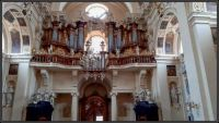 Interiér v bazilice - Stará Boleslav...  Interior of the basilica - Stará Boleslav/CZ ...