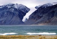 Glacier at Tanquary Fiord