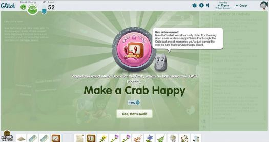 make a crab happy
