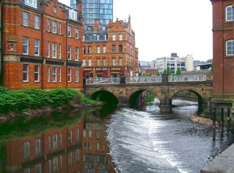 SHEFFIELD - LADY'S BRIDGE, RIVER DON