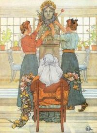 "Carl Larsson, ""Idun's 25th Year Anniversary"""