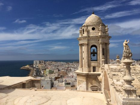 View from Cadiz cathedral