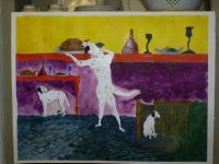 Painting of Dalmations