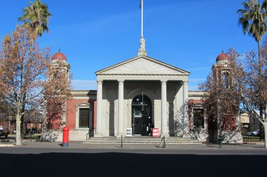 Old market building at Castlemaine