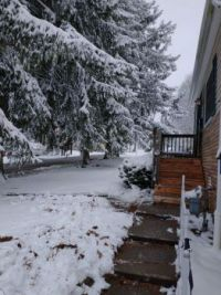 Winter at my house, St. Clairsville Ohio