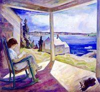 Portrait of Ann Reading, 1930, N. C. Wyeth (1882-1945)