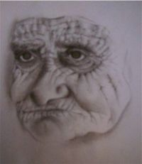 Old Woman by Amy