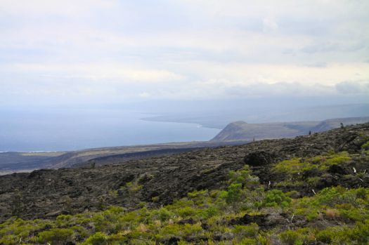Coastal Land, Volcano National Park, Big Island, Hawaii