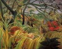 Henri Rousseau--Surprised! Tiger in a Tropical Storm, 1891