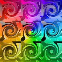 gradiant rainbow swirls 2