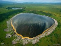 Albertine Rift, Crater Lake, Africa