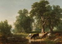 """Asher Brown Durand, """"Summer Afternoon"""""""
