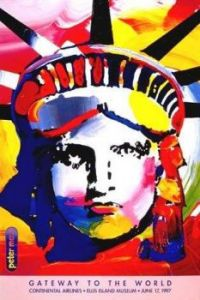 IMPRESSION OF LADY LIBERTY by PETER MAX