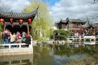 Chinese Gardens in Potland, Oregon