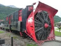Skagway's White Pass Snow Plow