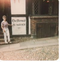 1984  visit to Mermaid Inn.  RYE