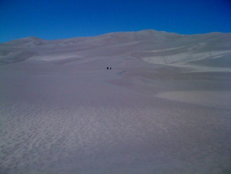 Hiking Great Sand Dunes Nat'l Park in Colorado