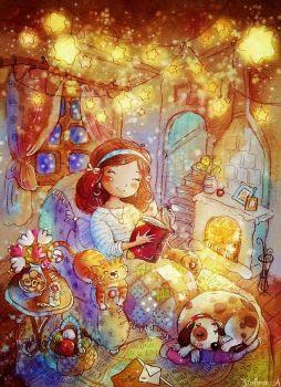 'Cozy Time' by Anastasia Stolbova