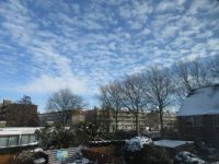 Sky over wintery The Hague (9 February 2021)