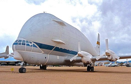 Aero Spacelines 377-SG Super Guppy. Pima Air and Space Museum.