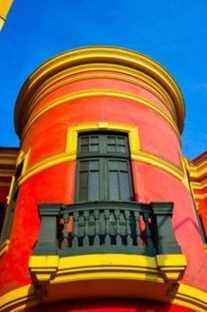 Balcony, Barranco Lima, Peru