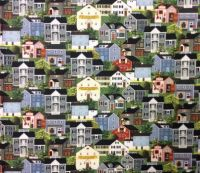 Charles Wysocki - Town and Country House Village